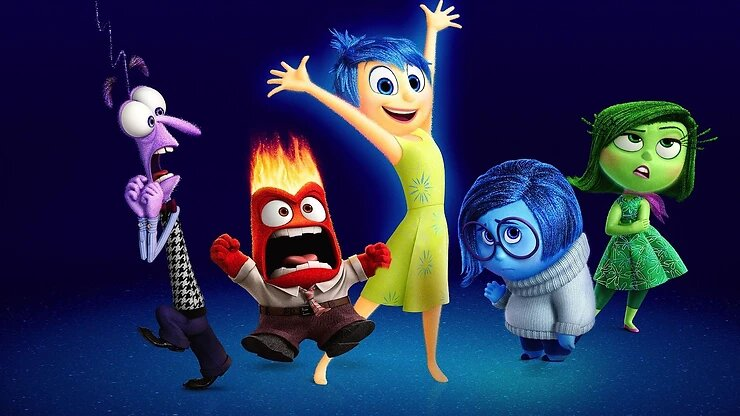 Inside Out, 2015, Disney Pixar.